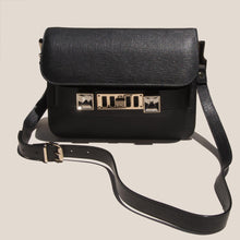 Load image into Gallery viewer, Proenza Schouler - PS11 Mini Classic Bag - black - front view, available at LCD.