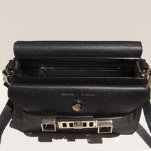 Load image into Gallery viewer, Proenza Schouler - PS11 Mini Classic Bag - black - detail view, available at LCD.