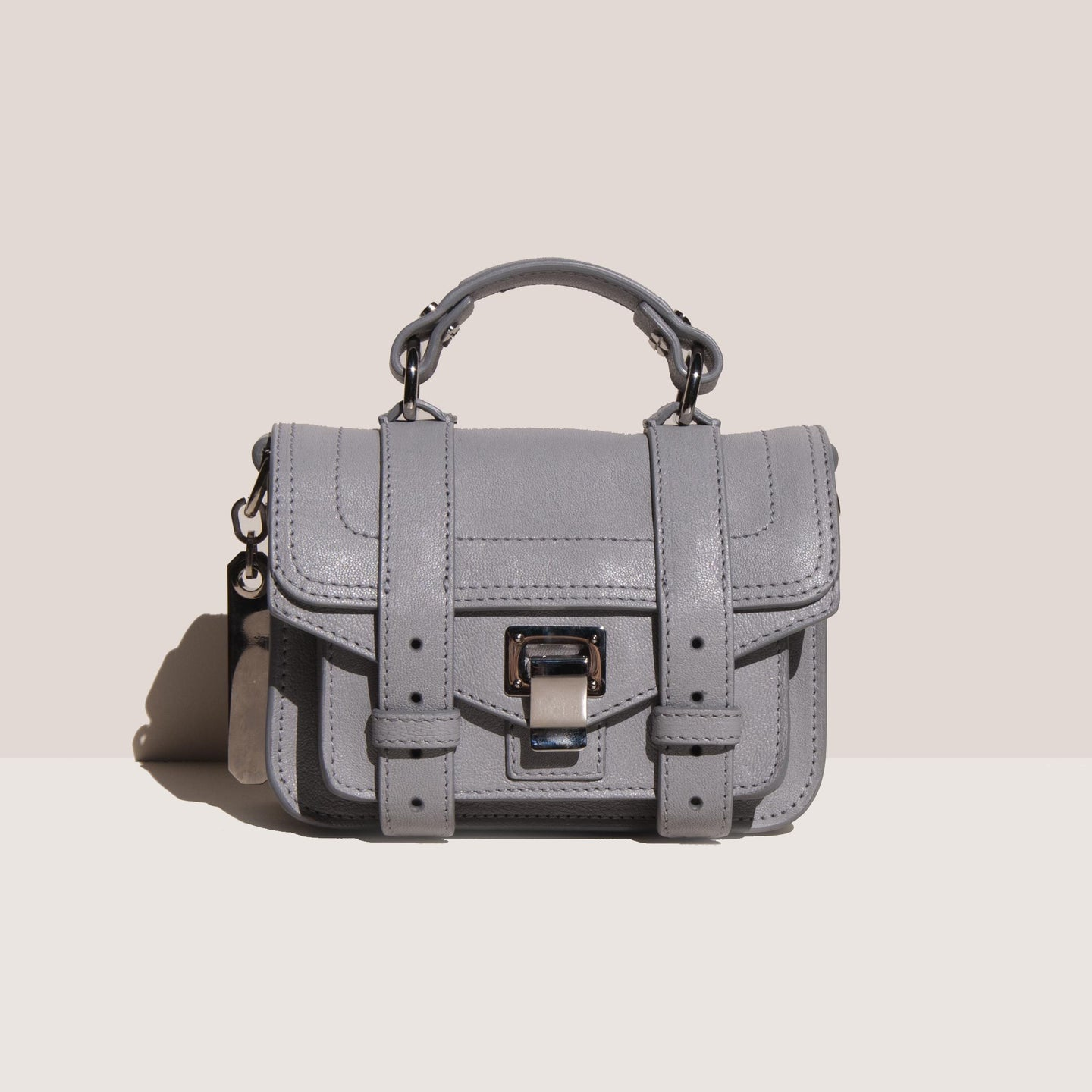 Proenza Schouler - PS1 Micro Bag, front view, available at LCD.