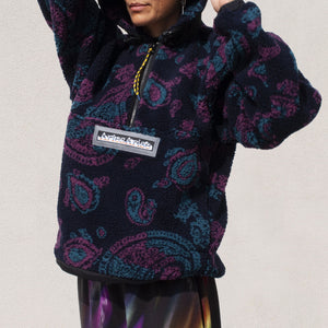 Aries - Paisley Fleece, front view, available at LCD.