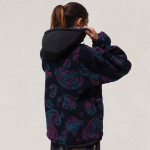 Aries - Paisley Fleece, back view, available at LCD.