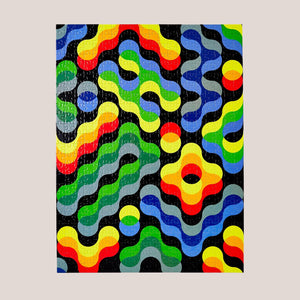 Areaware - Dusen Dusen Pattern Puzzle - Arc, available at LCD.