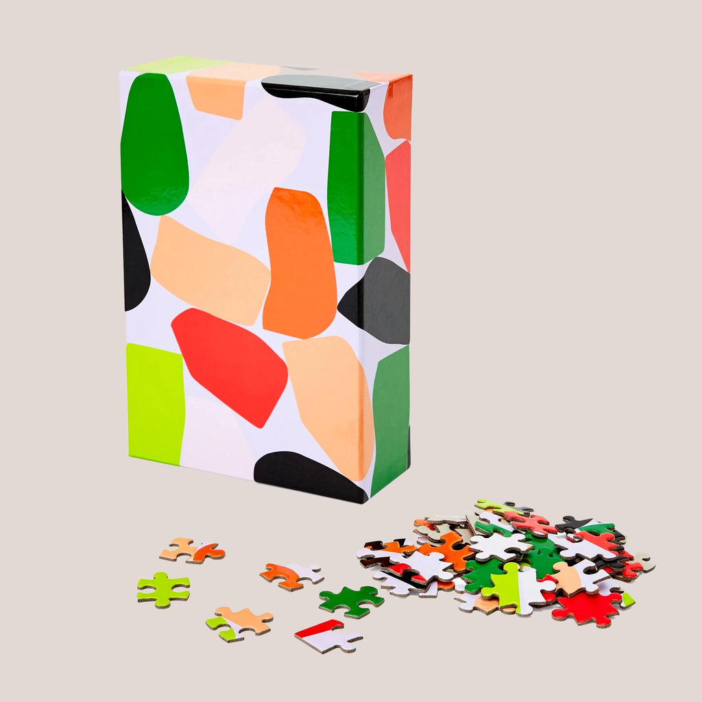 Areaware - Dusen Dusen Pattern Puzzle - Stack, available at LCD.