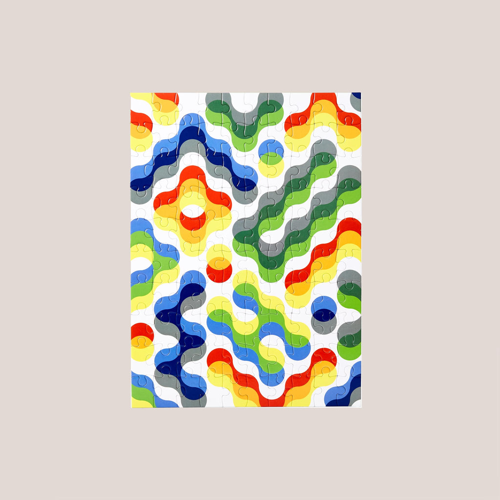 Areaware - Dusen Dusen Small Pattern Puzzle - Arc, available at LCD.
