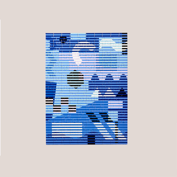 Areaware - Dusen Dusen Small Pattern Puzzle - Lenticular, available at LCD.