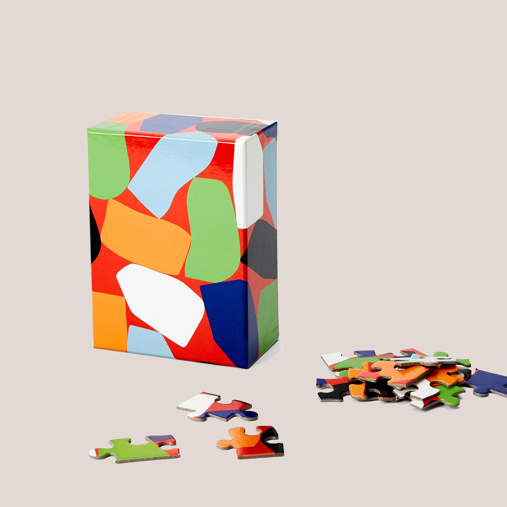 Areaware - Dusen Dusen Small Pattern Puzzle - Stack, available at LCD.