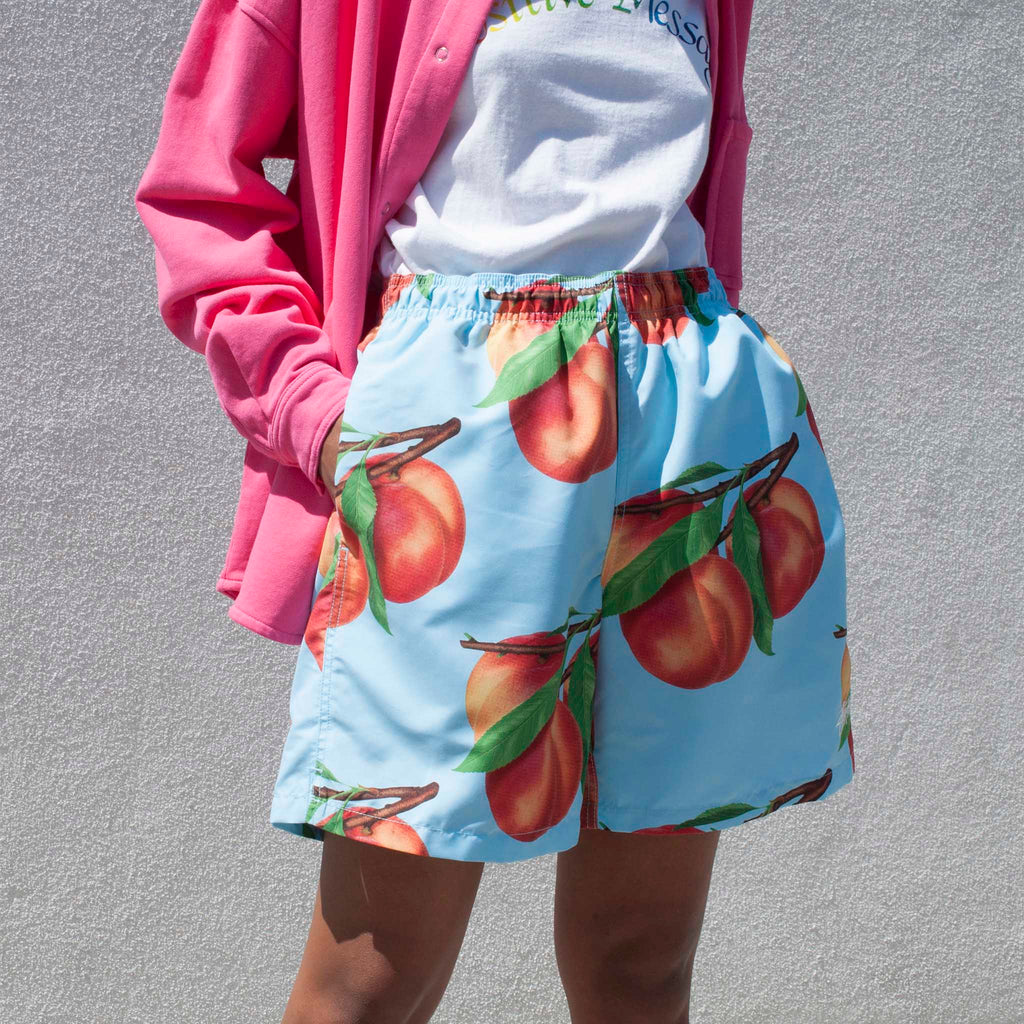 Stussy - Peaches Water Shorts, available at LCD.