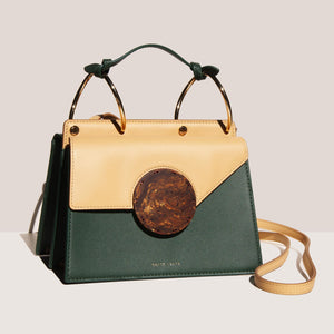 Danse Lente - Phoebe Bis Bag - Garden Honey, angled view, available at LCD.