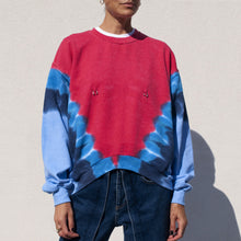 Load image into Gallery viewer, Collina Strada - Pierced Crewneck, front view, available at LCD.