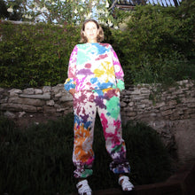 Load image into Gallery viewer, Kkco - Pierced Sweatpant - Tie Dye, front view, available at LCD.