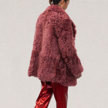 Load image into Gallery viewer, Sies Marjan - Pippa Tigrado Peacoat, angled back view, available at LCD.