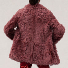 Load image into Gallery viewer, Sies Marjan - Pippa Tigrado Peacoat, back view, available at LCD.