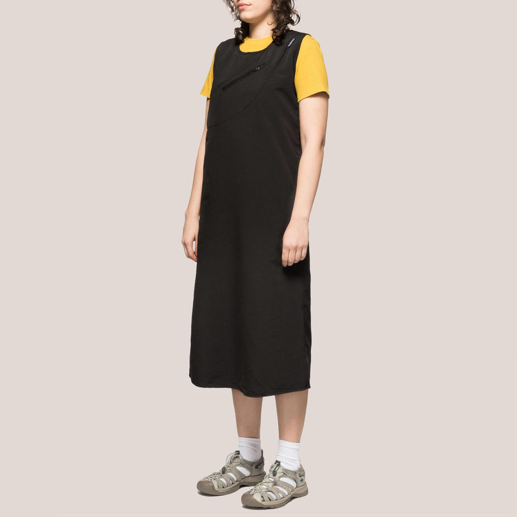 Stussy - Pocket Sun Dress, angled view, available at LCD.