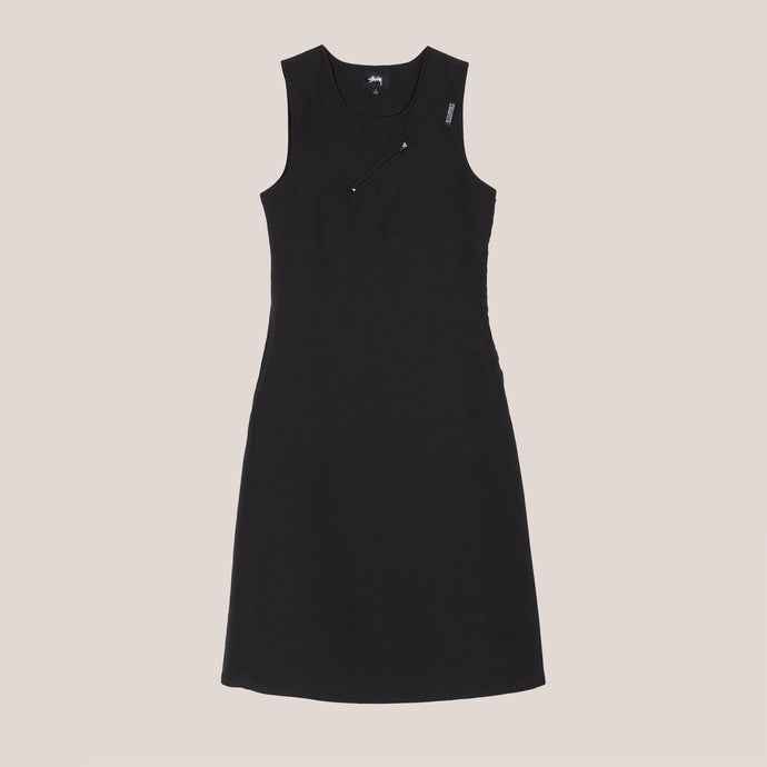 Stussy - Pocket Sun Dress, front view, available at LCD.