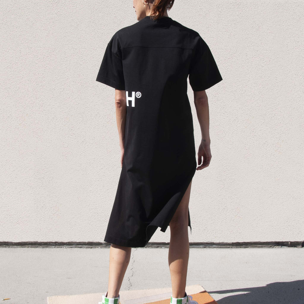 Ambush - Pocket T-Shirt Dress, back view, available at LCD.