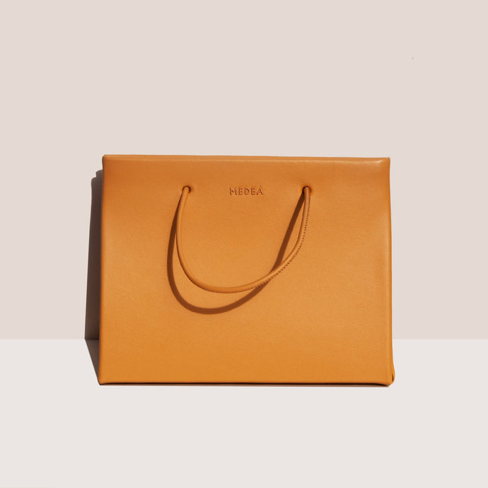 Medea - Prima Hanna Bag - Caramel, front view, available at LCD.