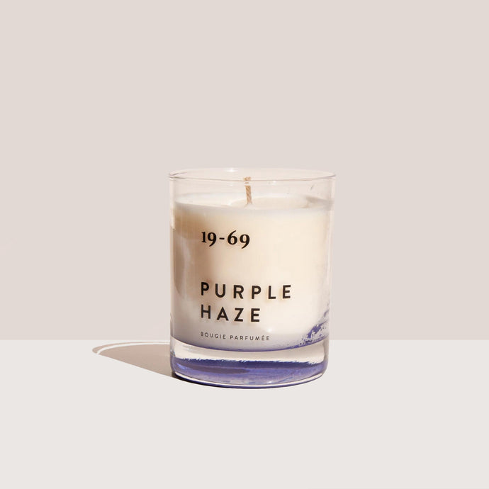 19-69 - Purple Haze Bougie Parfumée, front view, available at LCD.