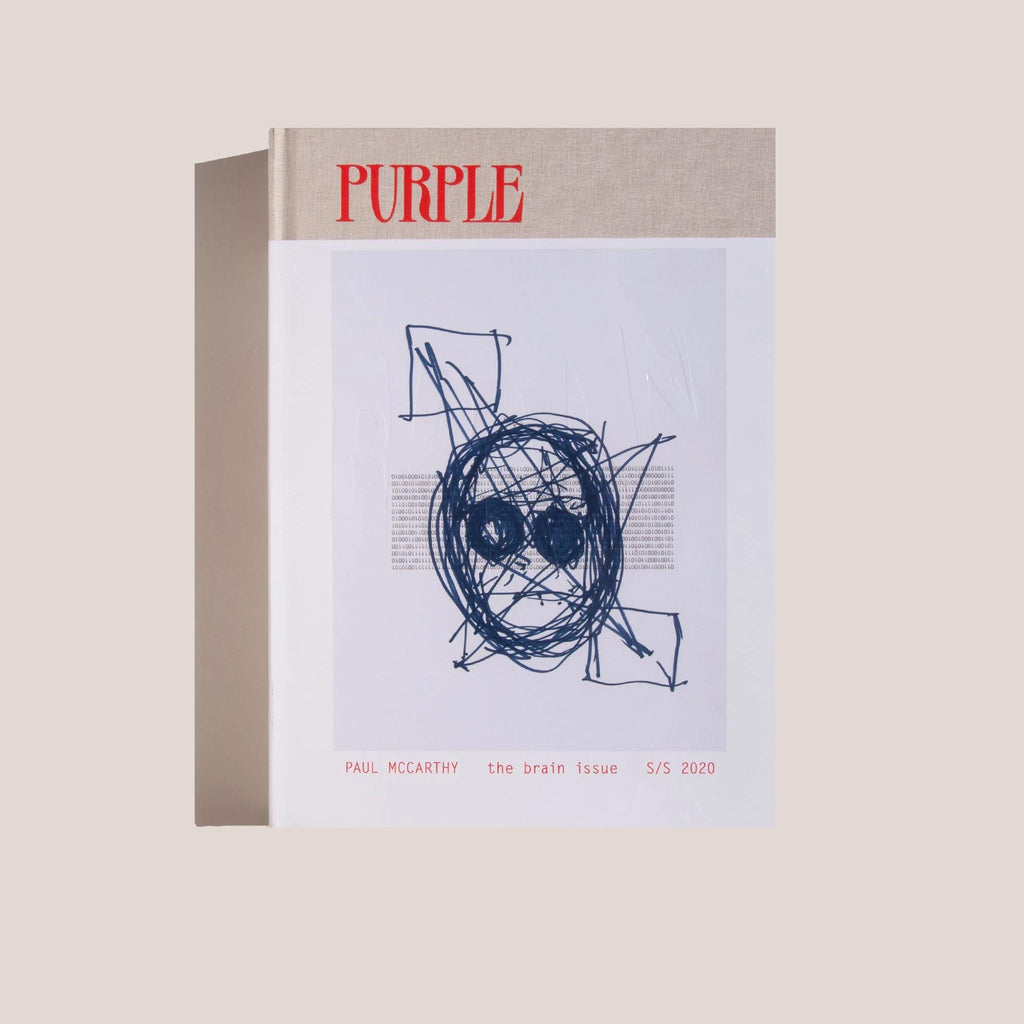 Purple Magazine - The Brain Issue, available at LCD.