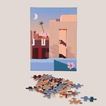 Load image into Gallery viewer, Slowdown Studio -  La Muralla Roja Puzzle, available at LCD.