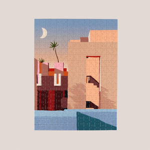 Slowdown Studio -  La Muralla Roja Puzzle, available at LCD.