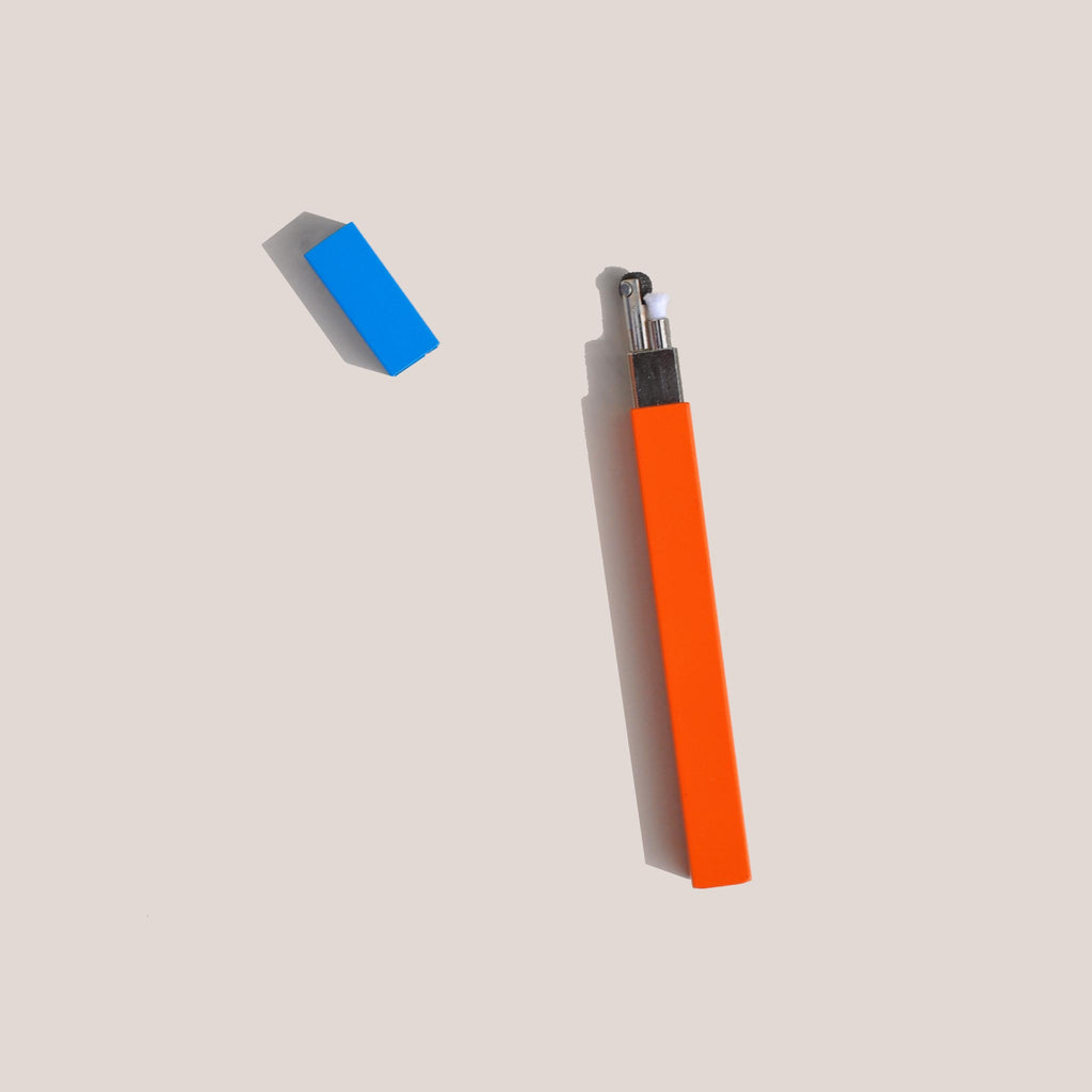 Tsubota Pearl - Queue Stick Lighter - Orange / Turquoise, available at LCD.