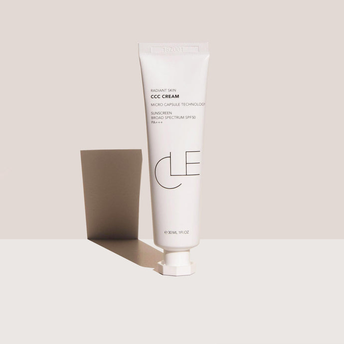 Cle Cosmetics - CCC Cream, front view, available at LCD.
