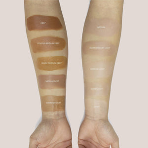 Cle Cosmetics - CCC Cream, swatches on arm, available at LCD.