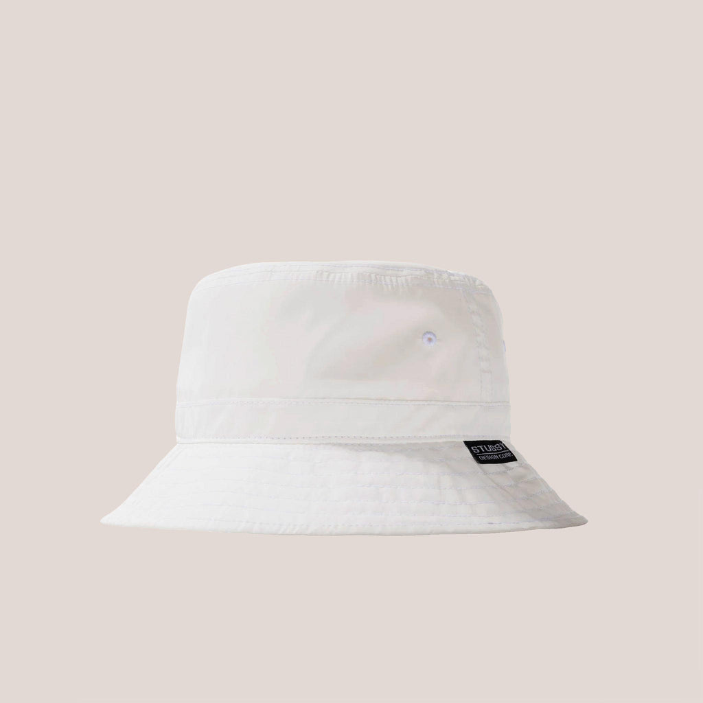 Stussy - Reflective Bucket Hat, available at LCD.