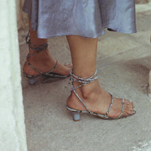 Load image into Gallery viewer, LoQ - Roma Sandals - Luna Snake, available at LCD.