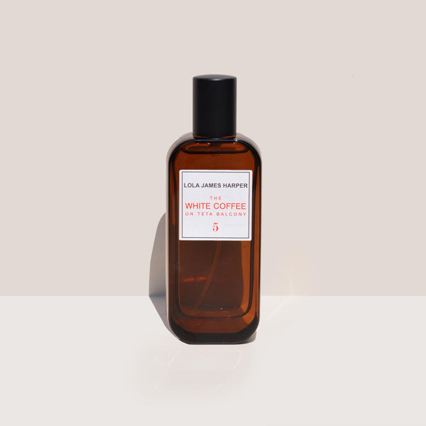 Lola James Harper - White Coffee Room Spray, available at LCD.