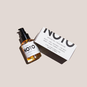 Noto Botanics - Rooted Oil, front view, available at LCD.
