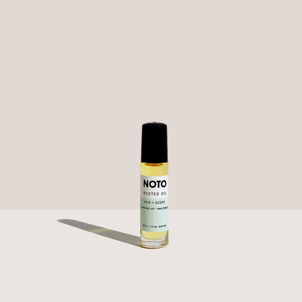 NOTO Botanics - Rooted Oil Roller, available at LCD.