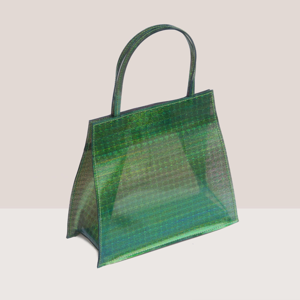 Maryam Nassir Zadeh - Rosalie Purse - Palm, angled view, available at LCD.