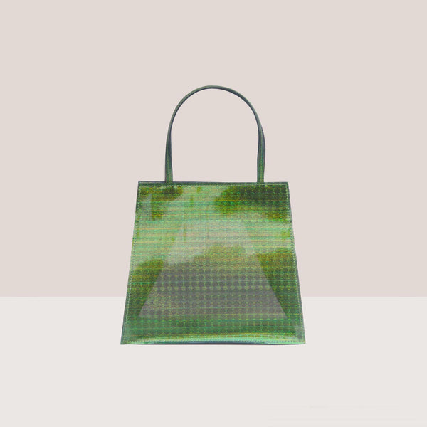 Maryam Nassir Zadeh - Rosalie Purse - Palm, front view, available at LCD.