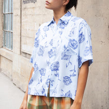 Load image into Gallery viewer, Aries - Rose Hawaiian Shirt, front view, available at LCD.