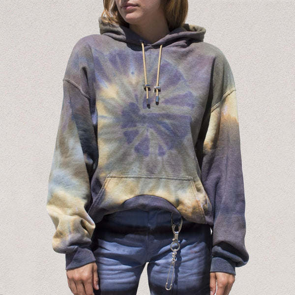 Collina Strada - Round Hem Hoodie - Woodland, front view, available at LCD.