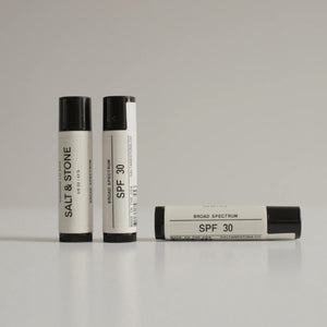 Salt & Stone - SPF 30 Lip Balm, available at LCD.