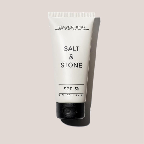 Salt & Stone - SPF 50 Sunscreen Lotion, available at LCD.