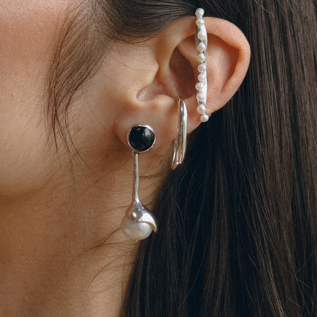 Faris - Sappho Earrings, available at LCD.