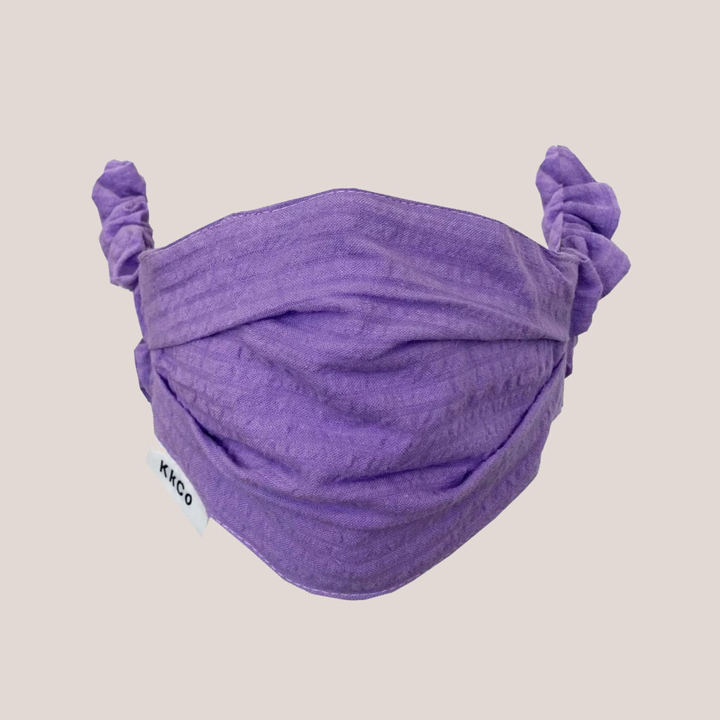 Kkco - Scrunchie Face Covering - Lavender, available at LCD.