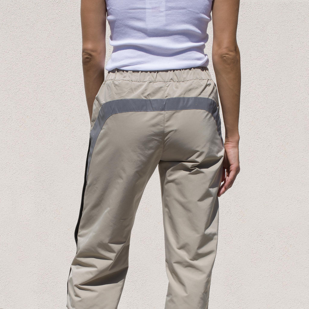 Sandy Liang - Sedona Track Pant, back view, available at LCD.