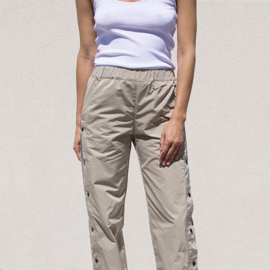 Sandy Liang - Sedona Track Pant, front view, available at LCD.