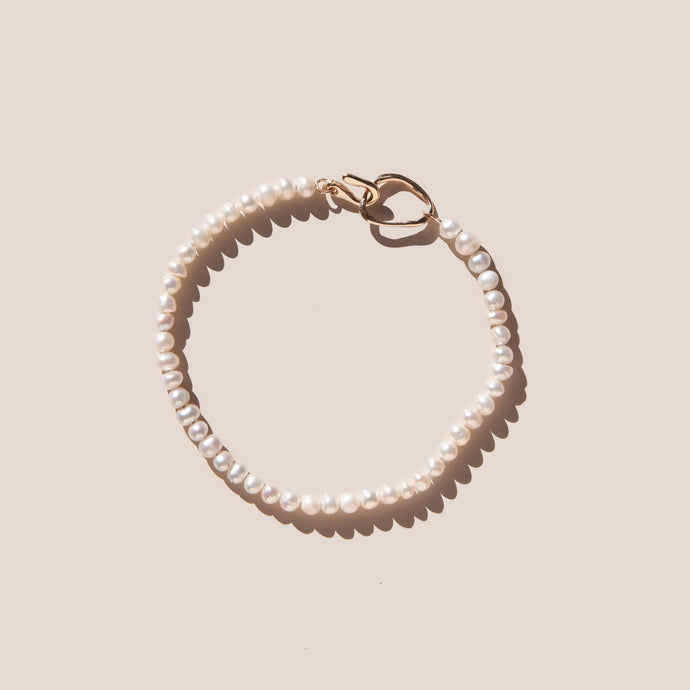 Faris - Seed Pearl Bracelet, available at LCD.