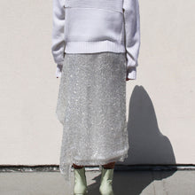 Load image into Gallery viewer, Walk of Shame - Sequins Skirt, back view, available at LCD.