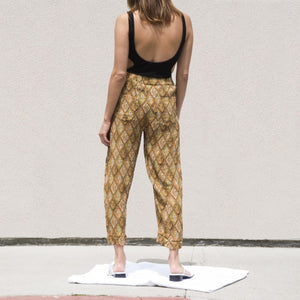 Nanushka - Selah Pants, back view, available at LCD.