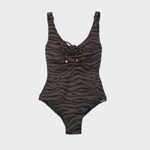 Prism - Shelter Island One Piece - Tiger, available at LCD