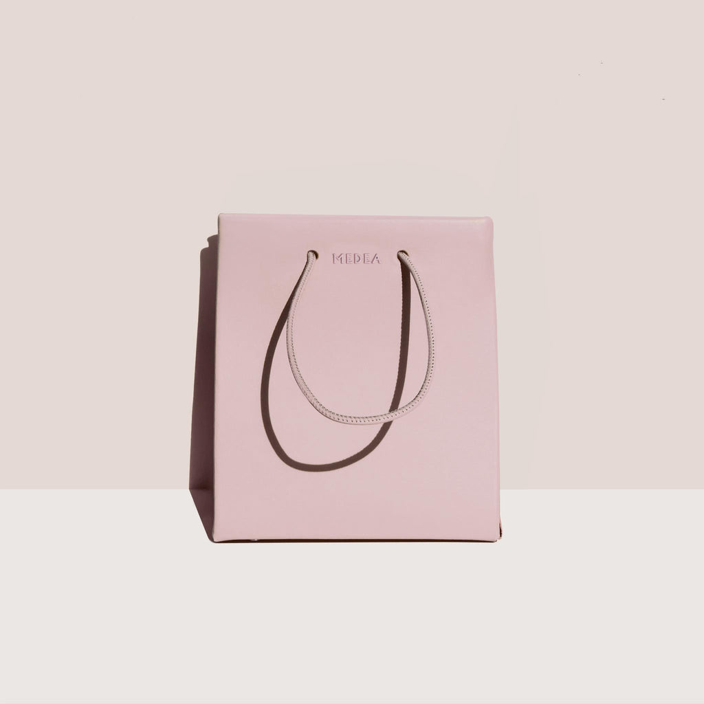 Medea - Medea Short Bag - Rosepink, front view, available at LCD.