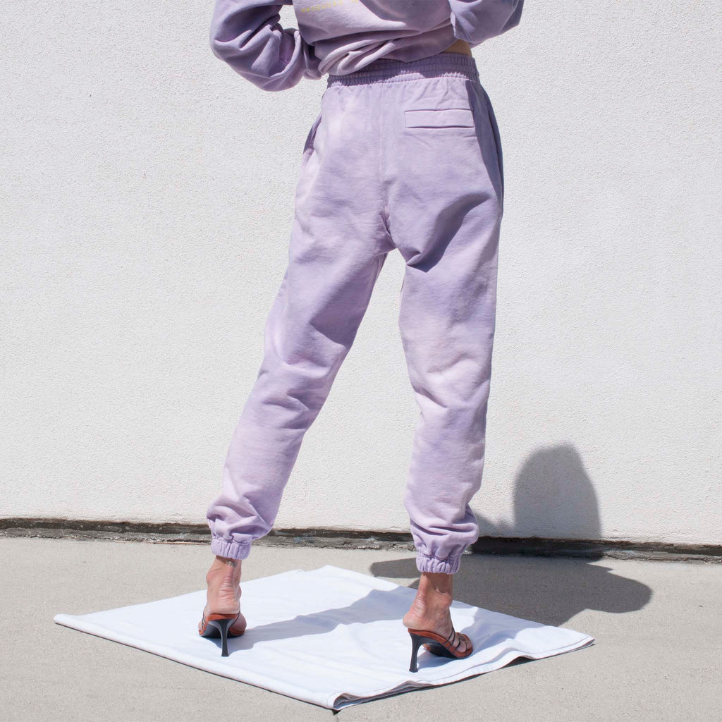 Martine Rose, Slim Track Pant - Mauve, available at LCD.