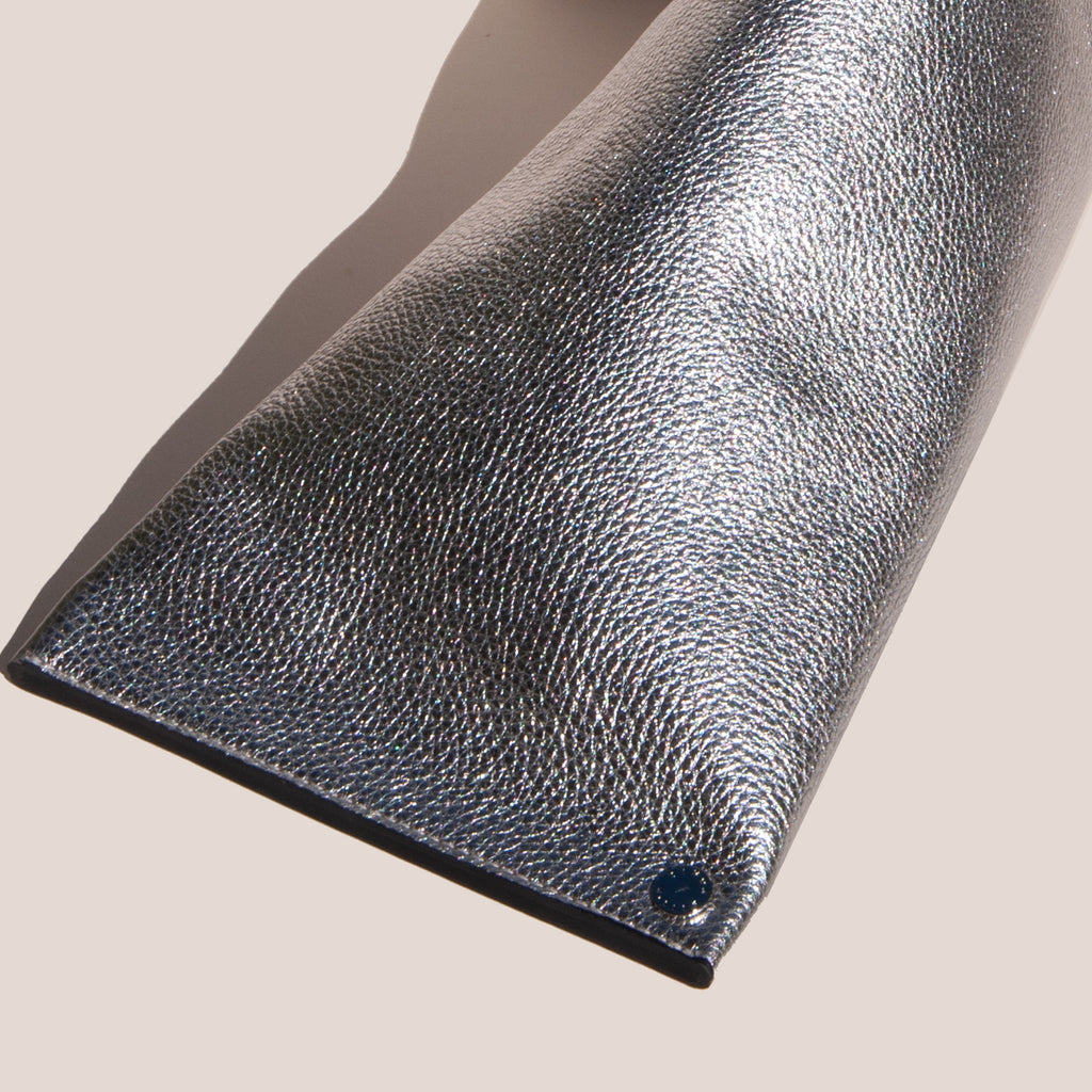 Simon Miller - Slug Bag - Silver, detail, available  at LCD.