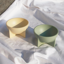 Load image into Gallery viewer, Fort Standard - Small Standing Bowl - Cream, available at LCD